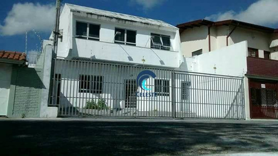 Casa Comercial Para Locação, Centro, São José Dos Campos - Ca0536. - Ca0536