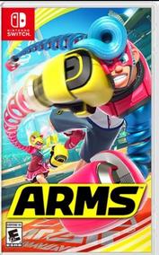 Arms Nintendo Switch - Midia Fisica Novo Original - Lacrado