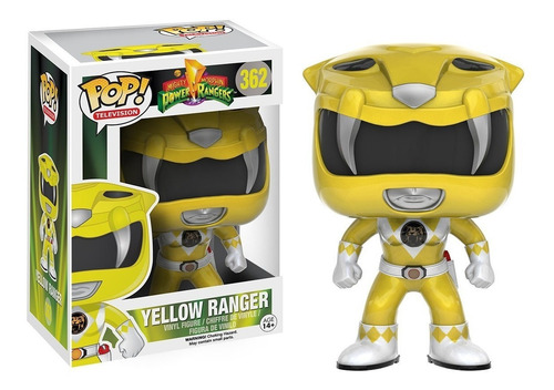Funko Pop Power Rangers Yellow Ranger