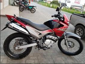 Honda Nx400 Vermelha