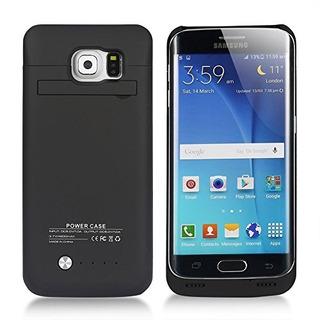 Caja De Batería Externa Recargable Samsung Galaxy S6 Edge D