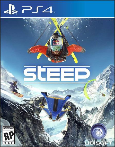 Jogo Novo Mídia Física Steep Original Para Playstation 4