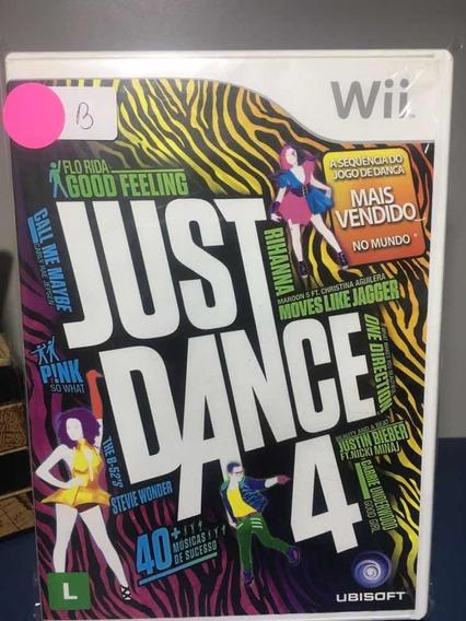 Just Dance 4- Jogo Para Nintendo Wii Seminovo-rf111
