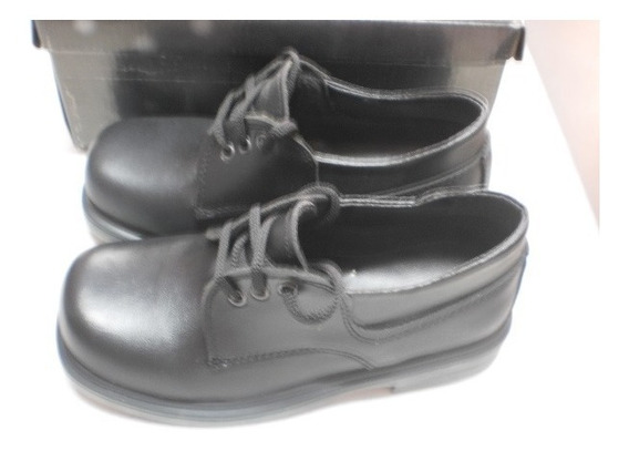 Zapato Colegial Acordonado O Abrojo