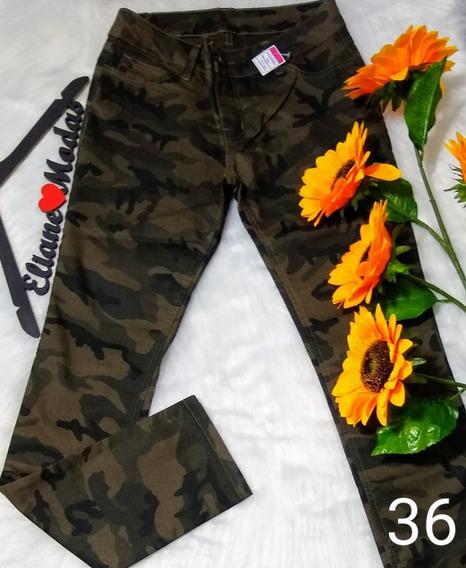 Kit 10 Calças Jeans Feminina Cintura Alta Atacado