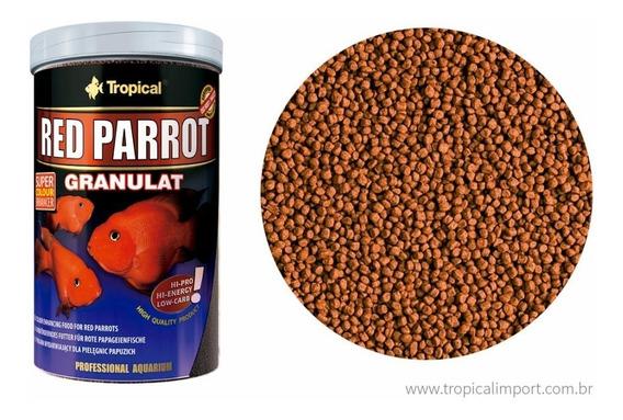 Ração Tropical Red Parrot Granulat 400gramas