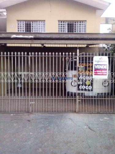 Casa À Venda, 280 M² Por R$ 410.000,00 - Sol - Londrina/pr - Ca0883