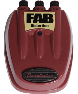 Pedal Danelectro Fab D-1 Distortion Para Guitarra Electrica