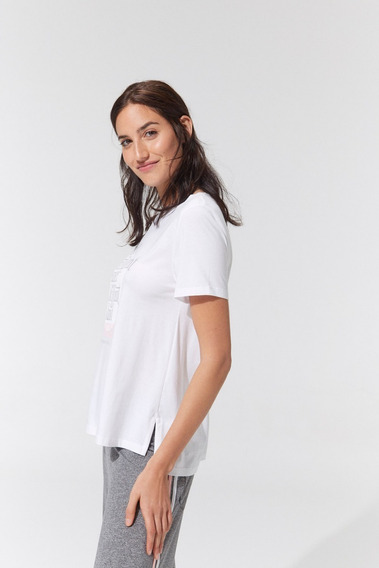 Remera Woman -5229- Bonjour Lulu Oficial