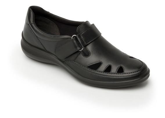 Zapato Flexi Mujer 25905 Negro Tan Casual