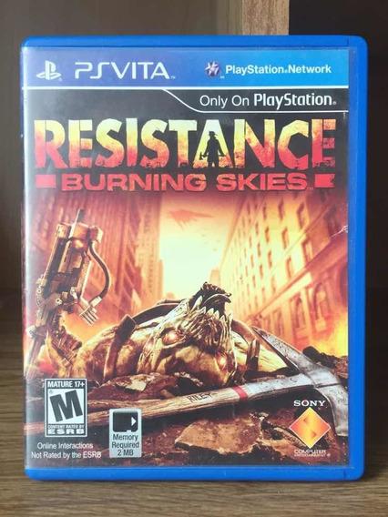 Resistance Burning Skies - Vita - Psvita