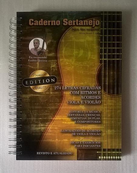 Caderno Sertanejo Premium Edition Músicas Cifradas