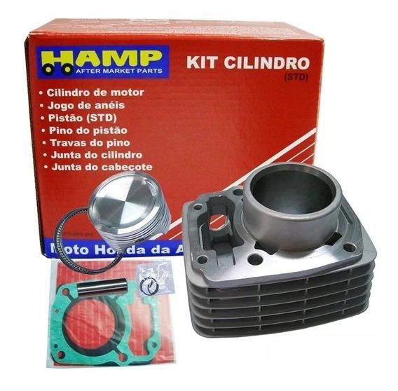 Kit Cilindro + Biela + Rolamentos Cg Titan 150 / Bros 150