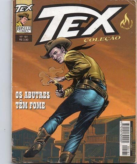 Tex Coleção Nº 181 - Ed. Mythos-2002 - Muito Bom # Katram