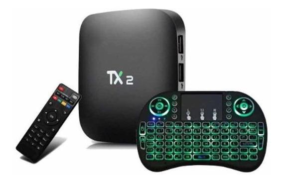 Conversor Smart Tx2 C/ Bluetooth + Mini Teclado ( Brinde )