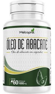 Óleo De Abacate 1000mg 60 Cápsulas Melcoprol Andropausa