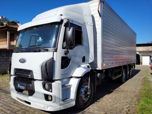 Imagem 1 de 15 de Ford Cargo Cargo 2428 Truck Baú