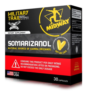 Somarizanol 30 Caps - Complexo Ativador Original Midway