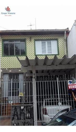 Sobrado A Venda No Bairro Vila Maria Alta Em São Paulo - - 12569-1
