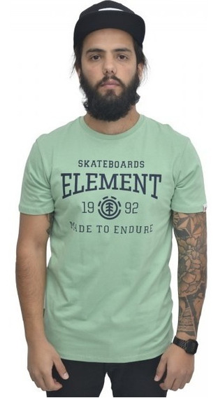 Remera Element Victory Tee Hombre Verde