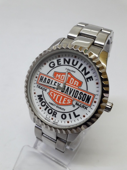 Relógio Harley Davidson Bulova Mod 76a129 Excelente Estado