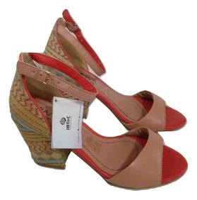 bf668952ed Sandalias Ramarim Salto Geometrico - Sapatos no Mercado Livre Brasil
