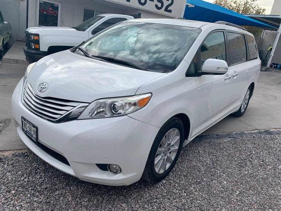 Toyota Sienna Limited Piel Limited Qc Dvd At 2013