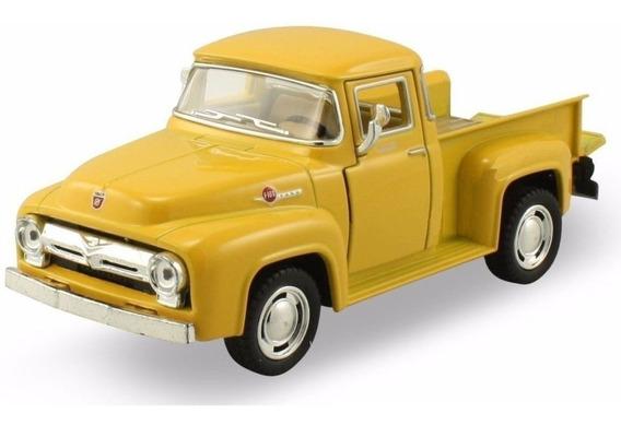 Ford F100 1956 Pick Up Coleccion En Escala 1:32 Kinsmart
