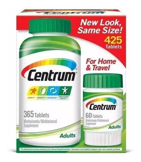 Centrum Adulto Multivitaminico 425 Cápsulas Importado