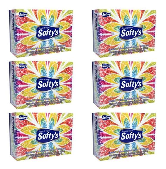 Softys Lenço De Papel C/100 (kit C/06)