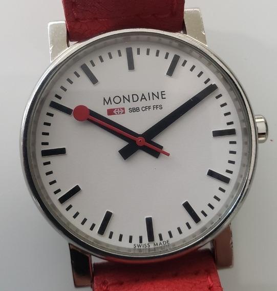 Relógio Antigo Mondaine Suizo