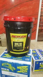 Paila.aceite Sae 50 Con Aditivos Diesel Reiker 100%,sellados