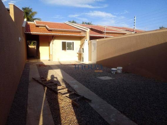 Casa Com 2 Dormitórios À Venda, 82 M² Por R$ 135.000 - Senador Carlos Jereissati - Pacatuba/ce - Ca0564