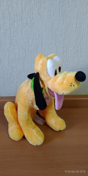 Pluto Pelúcia Original Disney 39cm