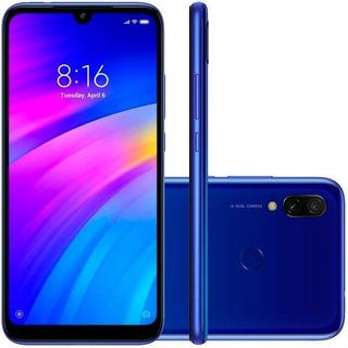 Xiaomi- Redmi 7 Comet Blue 3gb Ram 64gb Rom C.n.f