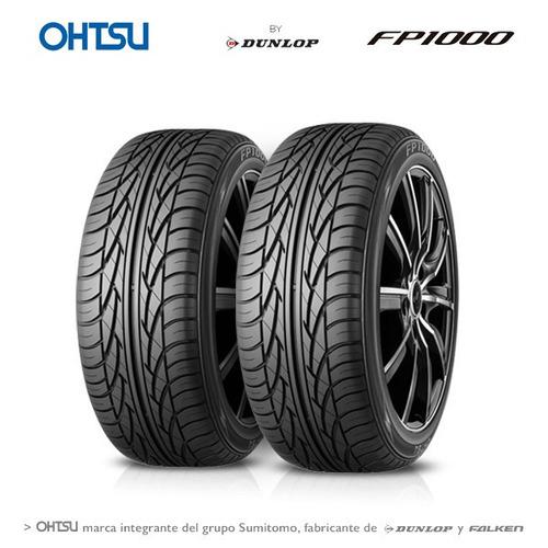Kit 2 Neumáticos Ohtsu 215 60 Rodado 16 Fp1000 95h By Dunlop