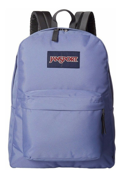 Mochila Jansport Superbreak Original Lavanda Bleached Denim