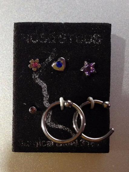 Paquete De Seis Piercing/nariz+¡regalo De Dos Piercing!