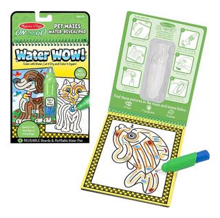 Water Wow Libro Pinta Con Agua Melissa Doug Mascotas