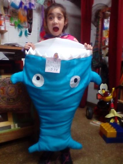 Porta Bebé Porta Enfant Tiburón Para Dormir Cuna Carrito