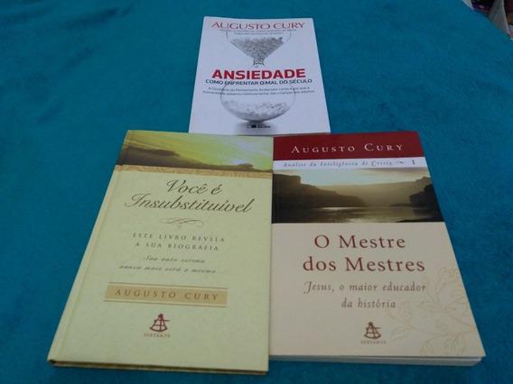 Augusto Cury 3 Livros