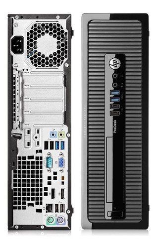 Imagen 1 de 2 de Computador Hp Prodesk 400 G1 Intel Core I7, 8gb Disco Ssd