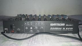 Mesa De Som Wattson Ambw 8 Efp