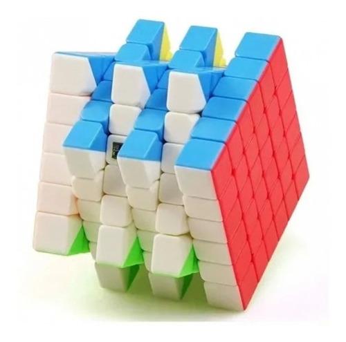 Imagem 1 de 3 de Cubo Magico 6x6 Stickerless