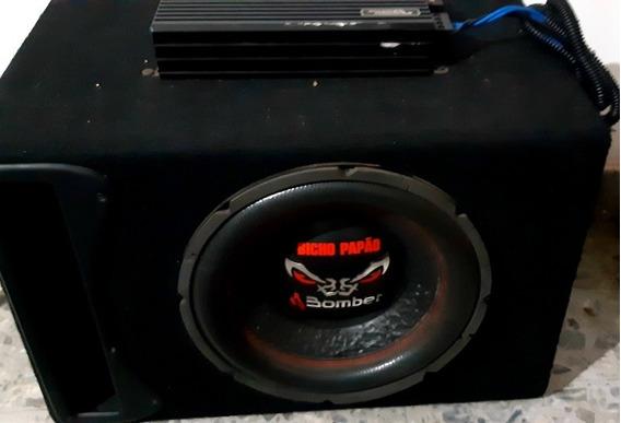 Subwoofer Bomber 12 Sound Magus Dk1200