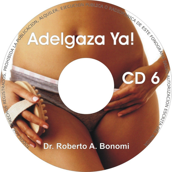 Cd De Audio Del Dr. Bonomi