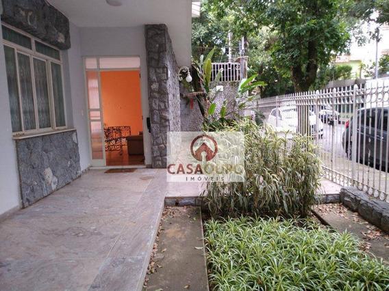 Casa Para Aluguel, Residencial E/ou Comercial 340 M, 4 Quartos, Otima Localização. Pertinho Do Tjmg. - Ca0095
