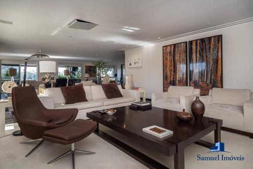 Imagem 1 de 22 de Apartamento Com 4 Dormitórios À Venda, 468 M² Por R$ 15.490.000,00 - Moema - São Paulo/sp - Ap3617