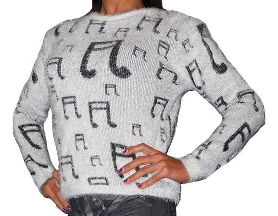 Sweater Pullover Monito Suave Comodo Elegante Delicado!!