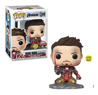 Funko Pop 580 Marvel I Am Iron Man Specia Edition Glows Dark